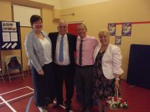 Saying goodbye to retiring Volunteering Champion Cllr Alan and Heather Finch