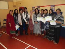 Volunteers from Dudley Asian Women's Centre