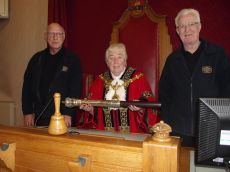Volunteers from Black Country Living Museum 'Thunderbirds' group