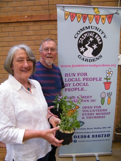Janet and Charlie Hilken of Jasmine Road Gardens
