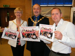 The Mayor & Mayoress launch Dudley Volunteer Awards 2015 with Andy Gray, Chief Officer, DCVS