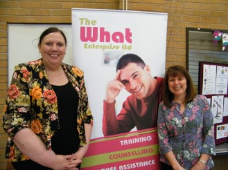 What Centre Julie Duffy CEO and Carol Wootton Company Secretary