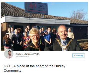 dy1 at the heart of the community