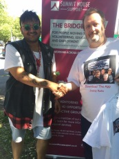 Chris with Stevie from Summit House