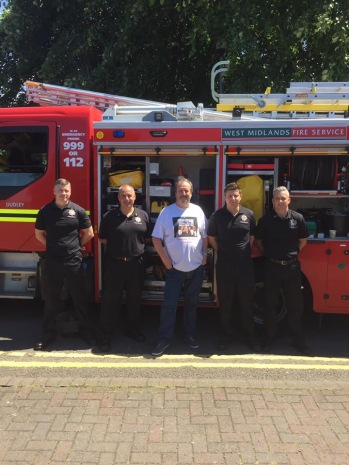 Dudley Fire Station personnel